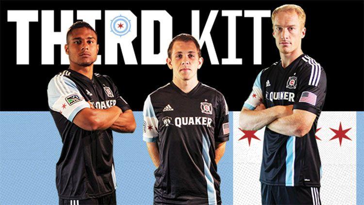 Chicago Fire third kit 2014-2015