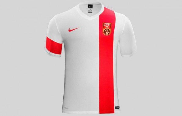 Seconda maglia Cina 2015-2016 Nike