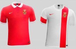 Maglie Cina 2015-2016 Nike