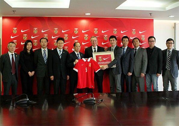 Sponsorizzazione Cina-Nike