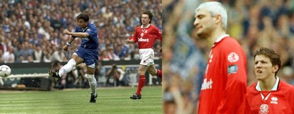 Finale FA Cup 1997 Chelsea-Middlesbrough