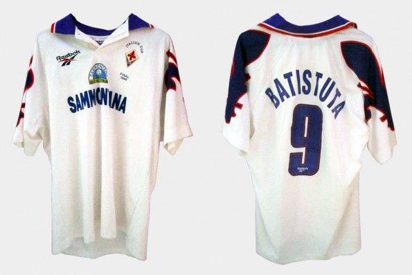 Seconda maglia Fiorentina 1995-96 Batistuta