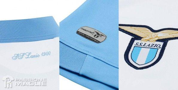 Dettagli maglia Lazio -9 Macron