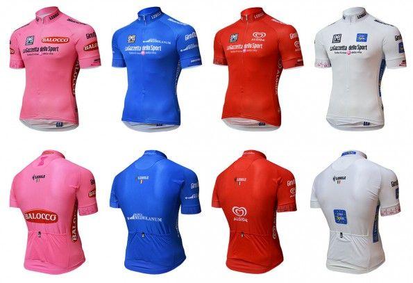 Maglie Giro d'Italia 2015