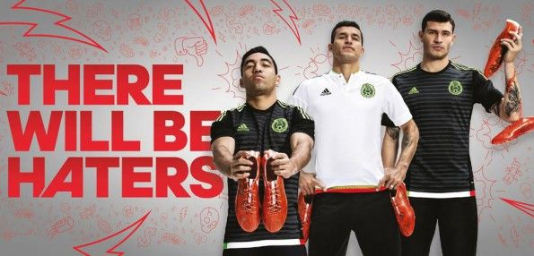 Kit Messico adidas 2015 Haters