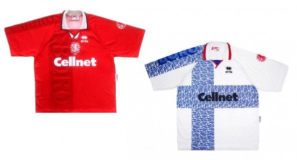 Maglie Middlesbrough 1996-1997 Erreà