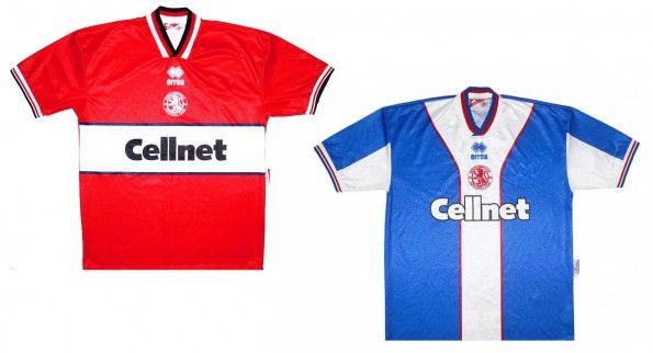 Maglie Middlesbrough 1997-1998