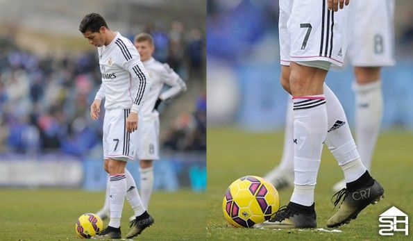 Cristiano Ronaldo (Real Madrid) - Nike Mercurial Superfly IV CR7 Gold Edition