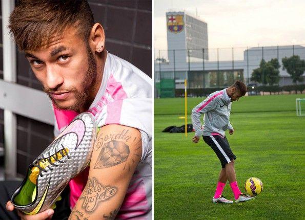 Tatuaggio diamante Neymar