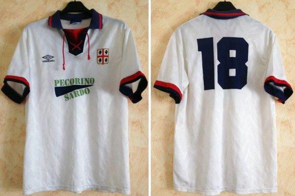 Seconda maglia Cagliari 1992-1993 Umbro