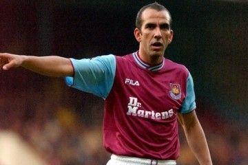 Di Canio con la maglia del West Ham 2001-2003