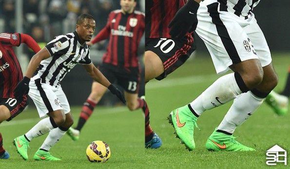 Patrice Evra (Juventus) Nike Magista Obra