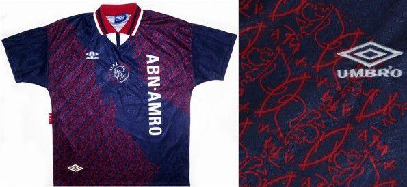 Maglia Umbro trasferta Ajax 1994-1995
