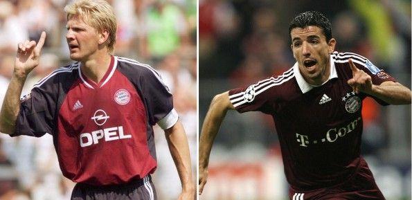 Maglie Bayern 2002 e 2007