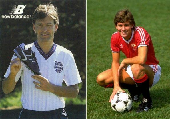 Bryan Robson scarpe New Balance 1984