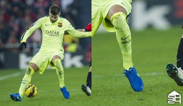 Gerard Pique (Barcelona) Nike Tiempo Legend V