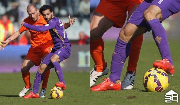 Salah (Fiorentina) adidas F50 adizero #therewillbehaters