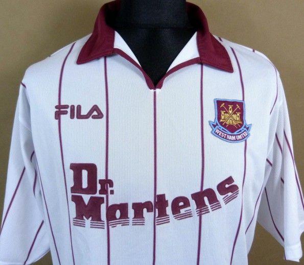 Maglia Away West Ham Fila 2002-2003