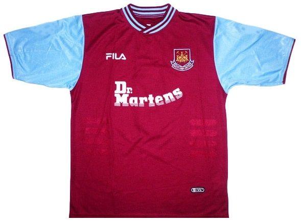 Maglia West Ham 2001-2003 home
