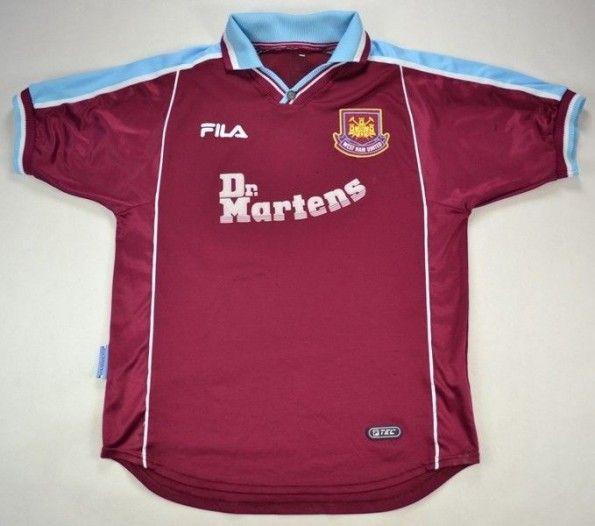 Maglia Fila West Ham 1999-2001