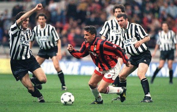 Baggio maglia Milan