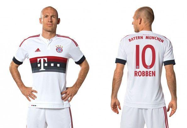 Seconda maglia Bayern Monaco 2015-16 Robben