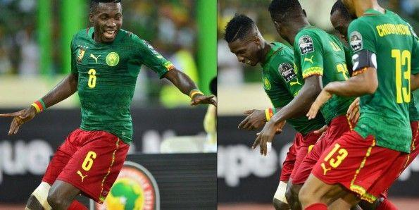 Maglia Camerun in Coppa d'Africa 2015
