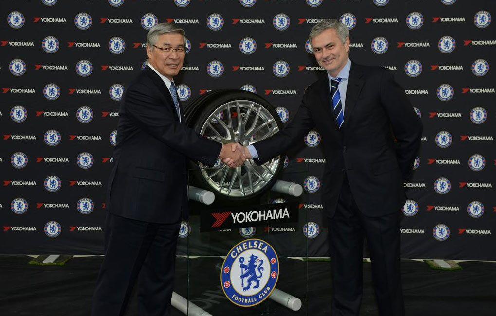Yokohama sponsor maglia Chelsea