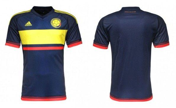 Anteprima maglia away Colombia 2015