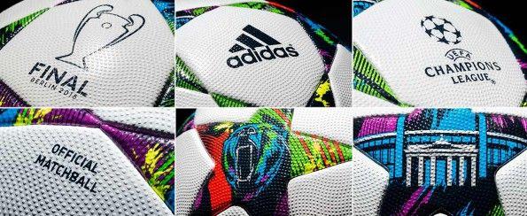 Dettagli pallone adidas Finale Berlin