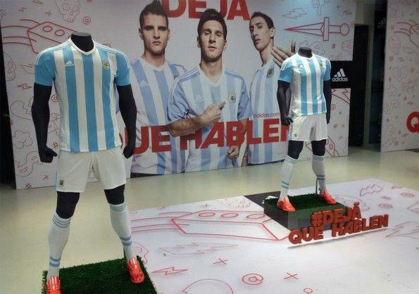Divisa Argentina 2015 adidas