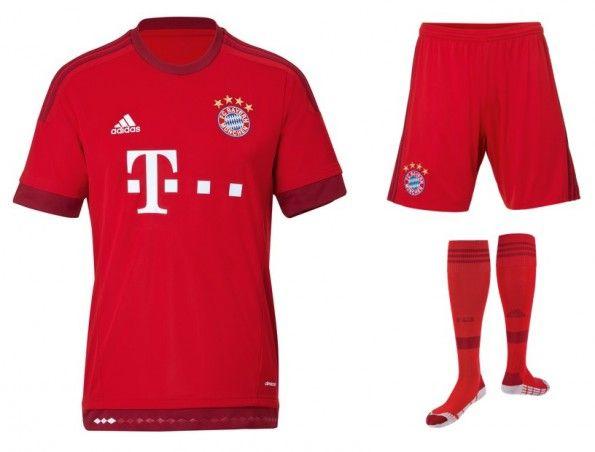 Divisa Bayern Monaco 2015-2016 home