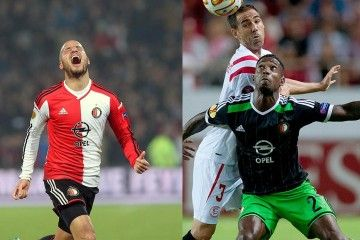 Feyenoord Europa League kits 2014-15