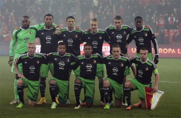 Feyenoord seconda maglia 2014-2015