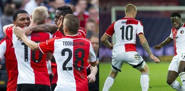 Font nomi numeri Feyenoord 2014-15