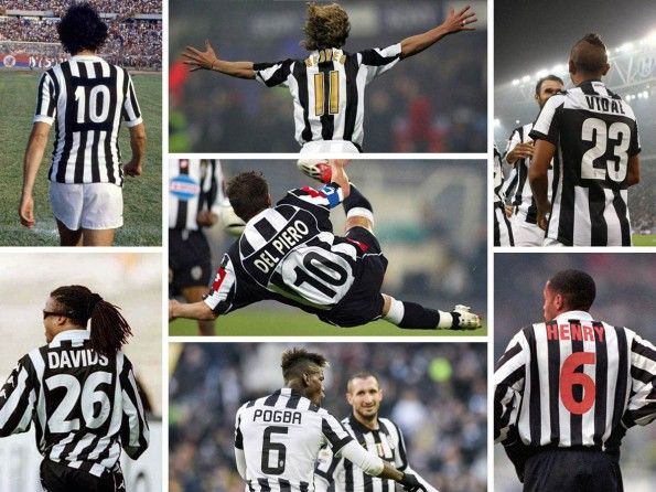 Storia numeri sulle maglie della Juventus