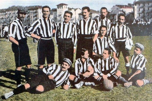 Juventus, maglia bianconera, 1906