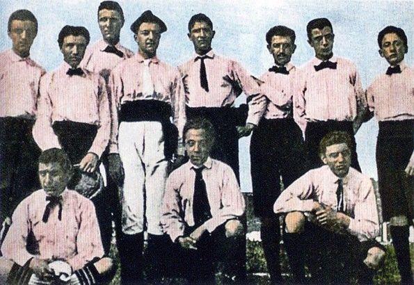 Juventus, maglia rosa, 1897