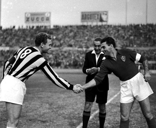 Juventus, numerazione, 1954