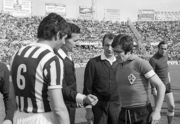Juventus, numerazione, 1973-1974