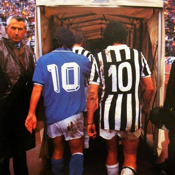 Juventus, numerazione, 1986-1987 con Platini
