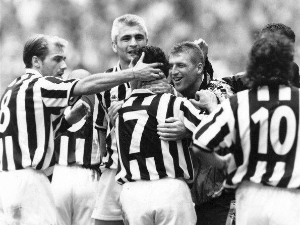 Juventus, numerazione, 1994-1995