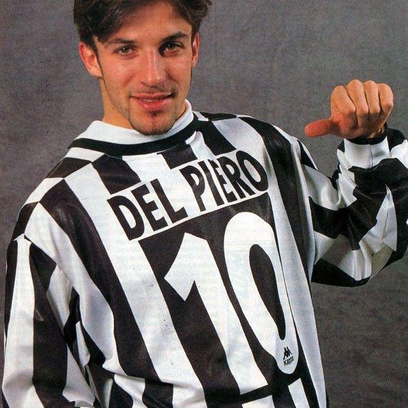 Juventus, numeri 1995-1996, Del Piero