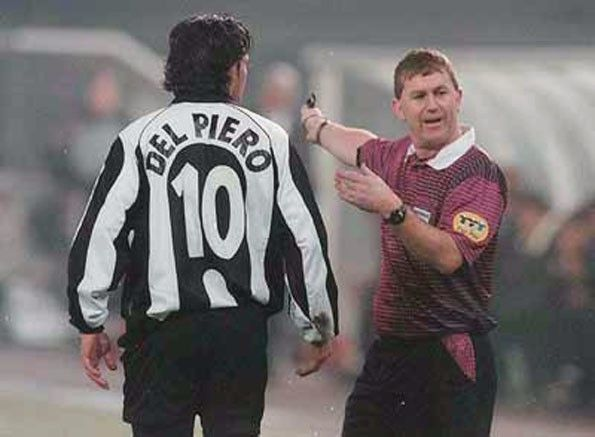 Juventus, numerazione, 1997-1998