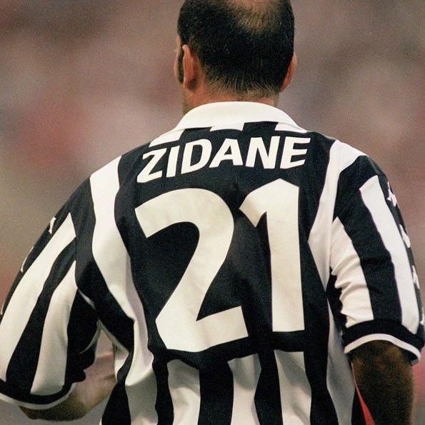 Juventus, numerazione 1999-2000, Zidane