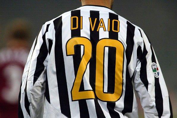 Juventus, Di Vaio, nomi e numeri gialli 2003-2004