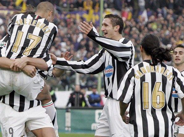 Juventus, numerazione, 2005-2006