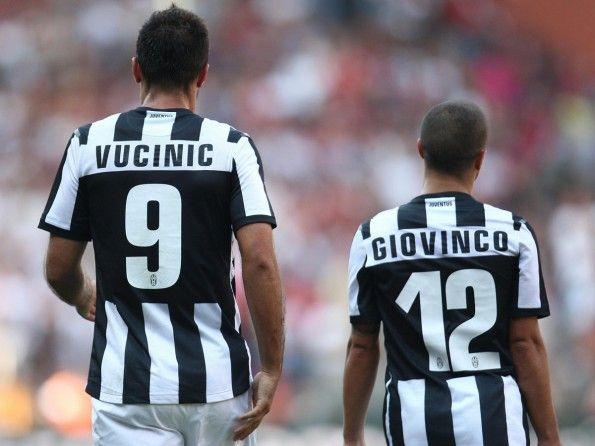 Juventus, numerazione 2012-2013