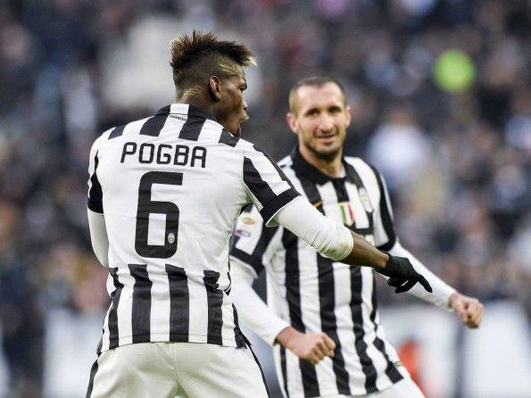 Juventus, numerazione 2014-2015