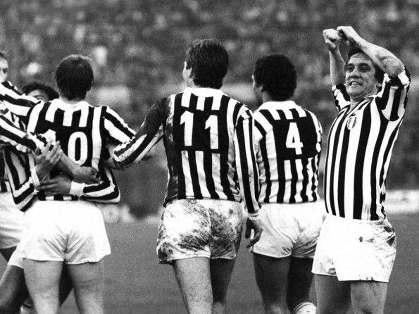 Juventus, numerazione, anni 1970